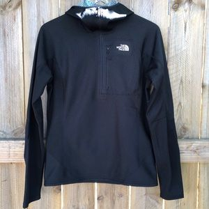 The North Face Pullover hoodie black small